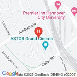Mappa HOTEL HARMONY