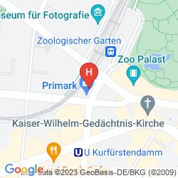 Mappa A&O BERLIN AM ZOO