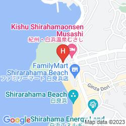 Mappa SHIRARASO GRAND HOTEL