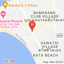Mappa WHITE PEACH HOTEL