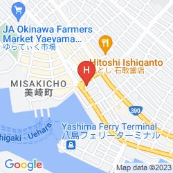 Mappa CHISUN RESORT ISHIGAKI