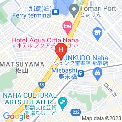 Mappa RICHMOND HOTELS NAHA-KUMOCHI