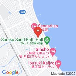 Mappa IBUSUKI CORAL BEACH HOTEL