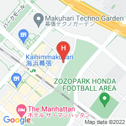 Mappa HOTEL SPRINGS MAKUHARI