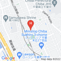 Mappa HOTEL MYSTAYS MAIHAMA