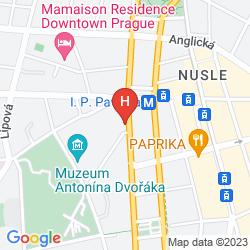 Mappa HOSTEL CENTRE