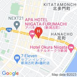 Mappa HOTEL SIASMONT NIIGATA