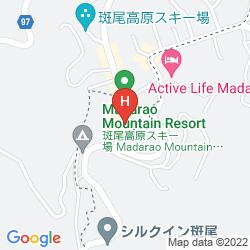 Mappa MADARAO KOGEN HOTEL