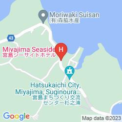 Mappa MIYAJIMA SEASIDE HOTEL