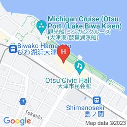 Mappa BIWAKO HOTEL