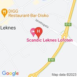 Mappa SCANDIC LEKNES LOFOTEN
