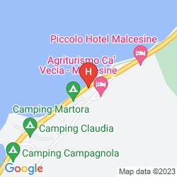 Mappa ALBERGO SAN REMO