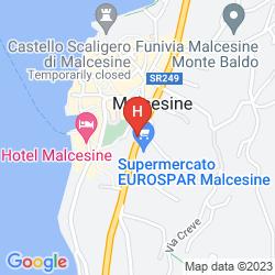 Mappa ALBERGO VILLA EDERA