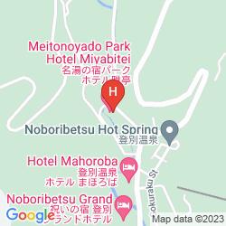 Mappa MEITONOYADO PARK HOTEL MIYABITEI