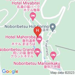 Mappa NOBORIBETSU ONSENKYO TAKINOYA