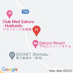 Mappa SAHORO RESORT HOTEL