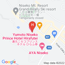 Mappa YUMATO NISEKO PRINCE HOTEL HIRAFUTEI