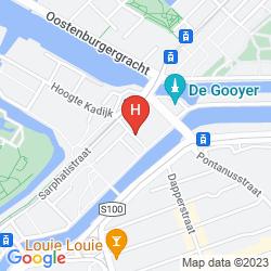 Mappa B&B ORANGE-AMSTERDAM