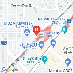 Mappa HOTEL METS KAWASAKI