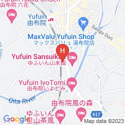 Mappa YUFUIN KOKORO NO OYADO KAZE NO MORI