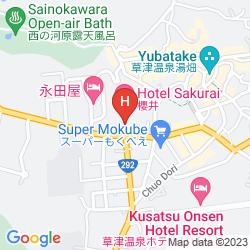 Mappa HOTEL SAKURAI