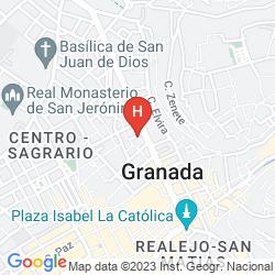 Mappa GRAN VIA GRANADA