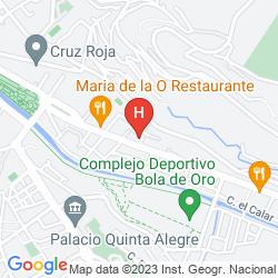Mappa LOS ALIXARES