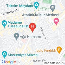 Mappa ALKOCLAR KEBAN