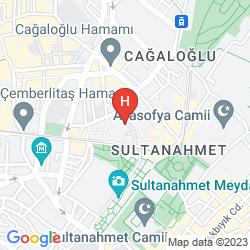 Mappa SURA DESIGN HOTEL & SUITES