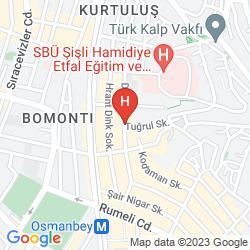 Mappa VALIDE HOTEL