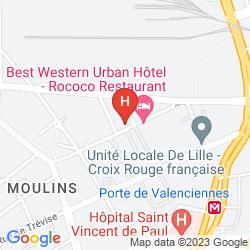 Mappa URBAN HOTEL & SPA