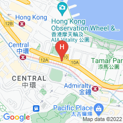 Mappa THE RITZ CARLTON HONG KONG