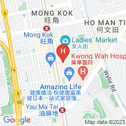 Mappa STANFORD HOTEL HONG KONG