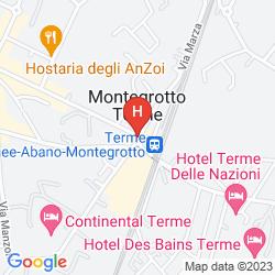 Mappa HOTEL TERME AUGUSTUS