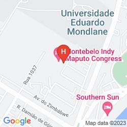 Mappa GIRASSOL INDY CONGRESS HOTEL & SPA