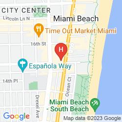 Mappa HI-MIAMI BEACH