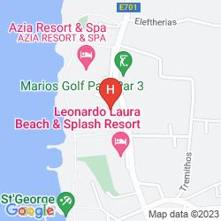 Mappa AZIA BLUE
