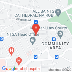 Mappa FAIRVIEW HOTEL