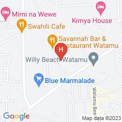Mappa WATAMU BAY ORA RESORT