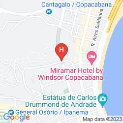Mappa PURA VIDA HOSTEL