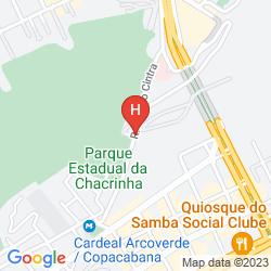 Mappa ARCO VERDE HOSTEL