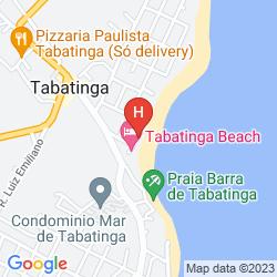 Mappa PRAIA BONITA RESORT AND CONVENTIONS