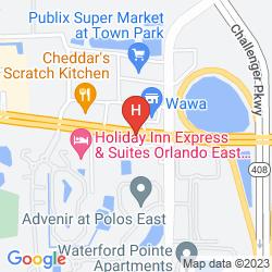 Mappa CROSSLAND ECONOMY STUDIOS - ORLANDO - UCF AREA