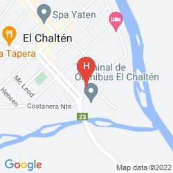 Mappa SENDEROS HOSTERIA