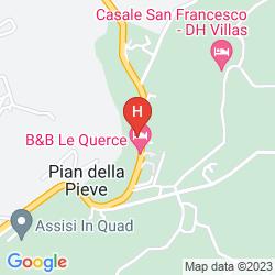 Mappa LE COCCE