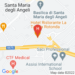 Mappa LA TAVOLA ROTONDA
