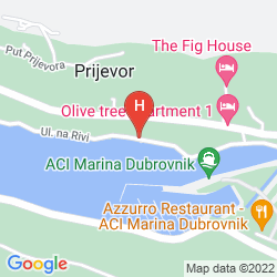 Mappa DUBROVNIK PALACE RESIDENCE