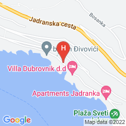 Mappa VILLA DUBROVNIK