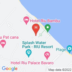 Mappa RIU PALACE BAVARO