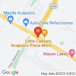Mappa HOLIDAY INN ACAPULCO LA ISLA